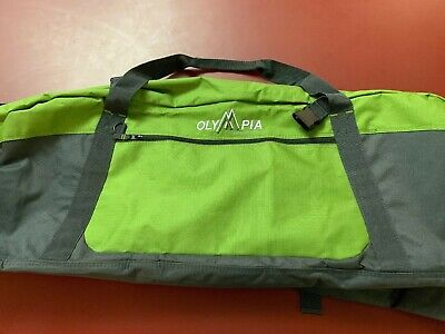Grey And Green Very Large Olympia Adventure Team Duffle Bag
