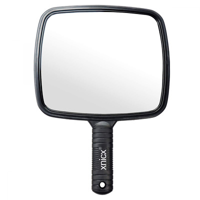 Hand Mirror Professional Handheld Salon Barbers Hairdressers Paddle Tool
