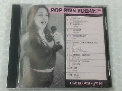 Pop Hits Today Karaoke Disc 9912-P December 1999 CD+G CDG