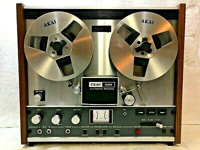 Teac 1250 - Auto-Reverse Stereo Tape Deck Reel-To-Reel - Fantastic !!!