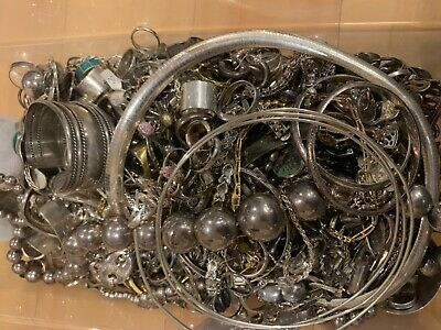 Vintage 925 Silver Jewelry Wholesale Lot $1 per gram All Wearable !!