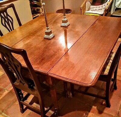 Beautiful early C19th French oak square dining table.