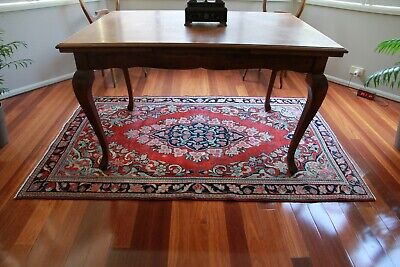 Vintage Hand Knotted Persian Wool Rug