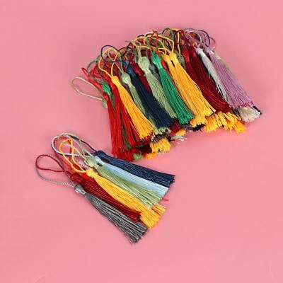 100Pcs Handmade Tassel Silk Tassels Trim Cotton Decor Trimming Lace Craft Sewing
