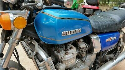 Suzuki GT 750. Waterbottle.