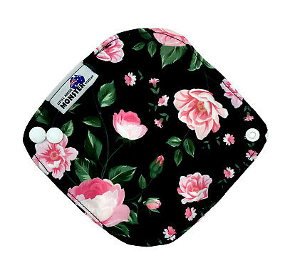 Reusable Cloth Menstrual Sanity and light incontinence pads Leaves