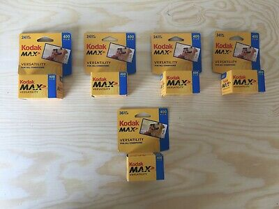 Kodak Versatility Max 400 35mm Color Film Roll