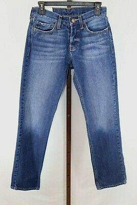 Hollister  Mens Youth Boys Teen Blue Denim Straight Leg Jeans Size 29 x30""