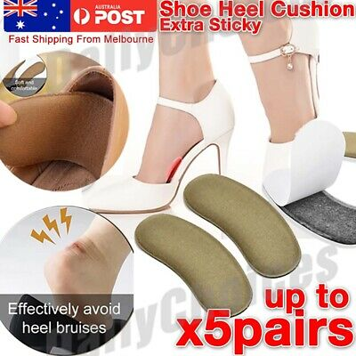 Shoe Heel Pads Liners Inserts Cushion Grip Padding Foam 1x 3x 5x Pairs