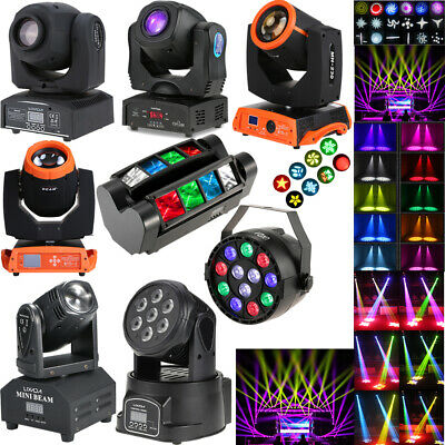 RGBW LED Lighting Effects Stage Beam Lights Moving Head DJ Disco Wedding Party