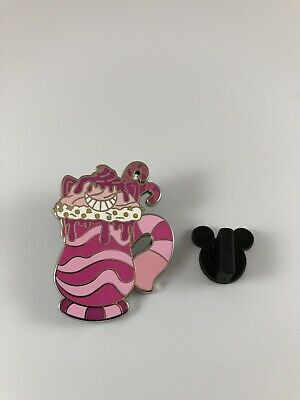 Cheshire Cat Disney Parks Happy Holidays Hot Cocoa Mystery Pin