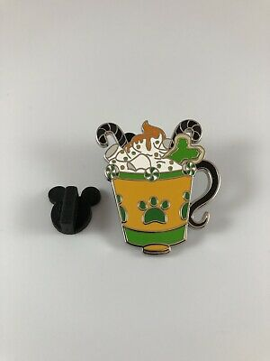 Pluto Disney Parks Happy Holidays Hot Cocoa Mystery Pin