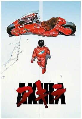 MOVIE POSTER 24x36-52085 BRAND NEW AKIRA ROLLED AND LABELED