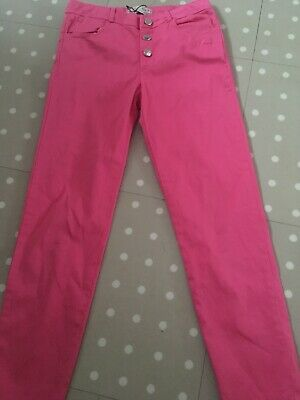 Girls Zara Pink Trousers Age 9