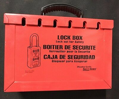 Master Lock 498A Lock Out Box - Safety Lockout 0498-05000
