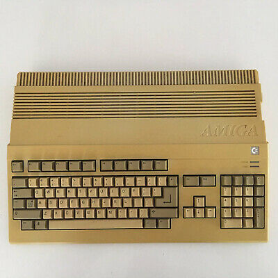 Commodore A500 Amiga 500 Working, Memory Upgrade With Mouse And Power Supply