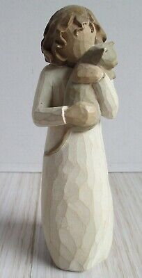 """Beautiful Willow Tree Figurine """"With Affection """" by Susan Lordi, 2003, GC"""