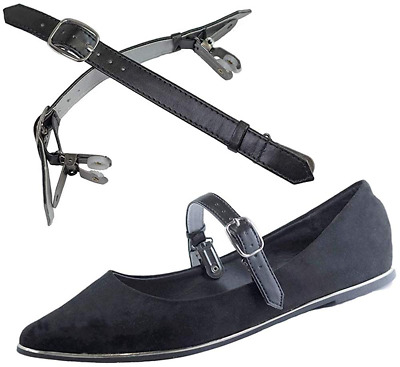 Detachable Shoe Straps - To Hold Loose Heels, Wedges, Flats