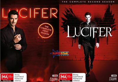 Lucifer Season 1 & 2 (DVD, 6-Disc Set) NEW