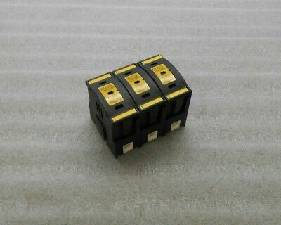 Buss Fuse Holders, JTN60060, 3 holders, No Fuses, Used, Warranty