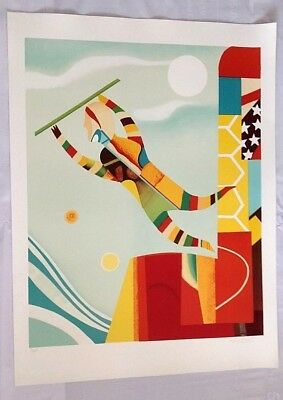 Max Papart New Orleans - 120X90Cm - 1986 Serigraphy - Signed