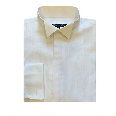 White Dress/Evening Wing Collar Shirt CLASSIC FIT - Formal/Evening/Party/Ball