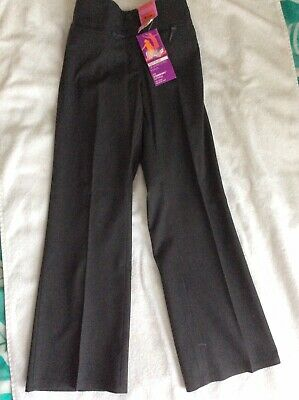 Marks And spencer girls Grey school trousers (short Leg) Age 9 Years