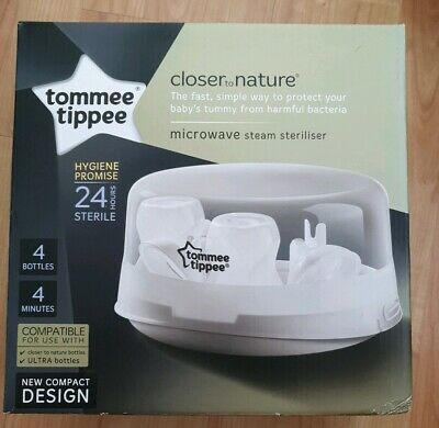 Tommee Tippee Closer to Nature Microwave Steam Steriliser n