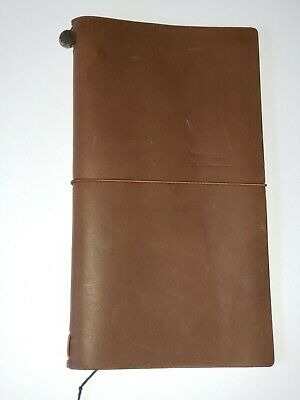 Midori Travelers Notebook - (Brown) Original Stamp TN