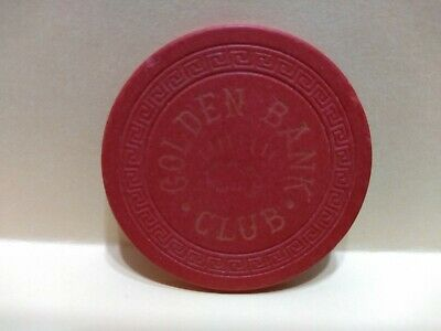 Early -- CASINO CHIP ----GOLDEN BANK CLUB---- NUGGET LOGO---RENO,NV
