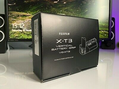 Fuji x-t3 vertical battery grip VG-XT3