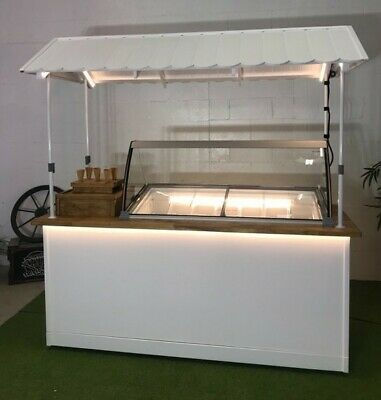 Brand new ice cream/gelato cart