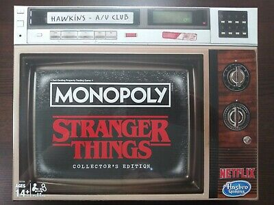 Stranger Things Monopoly Collector's Edition Netflix