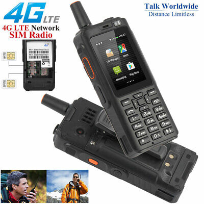 Unlocked 4G Android Rugged Waterproof Smartphone Two-way Walkie Talkie Dual SIM