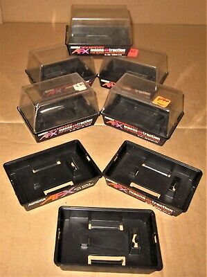 5 AURORA AFX ORIGINAL 1973 VINTAGE HO SLOT CAR EMPTY 2-piece DISPLAY BOXES ONLY