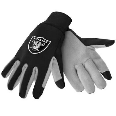 NFL Oakland Raiders Team Texting Technology Gloves