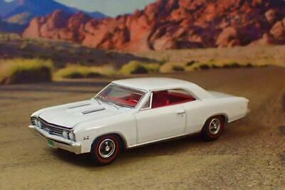 1967 67 Chevrolet Chevelle V-8 SS Sport Coupe 1/64 Scale Limited Edition U