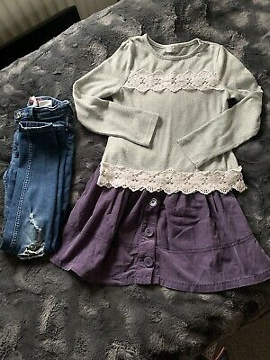 Girls Clothes Bundle 9 Years,  H&M & Next Top, Skirt