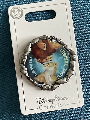 Disney Parks Can You Feel The Love Tonight Pin- Lion King- Simba/Nala- NEW