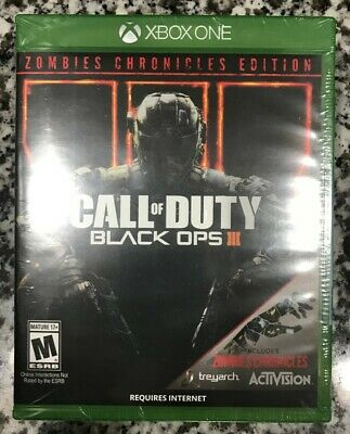 Call of Duty Black Ops III 3 - Zombies Chronicles Edition (Xbox One) - BRAND NEW