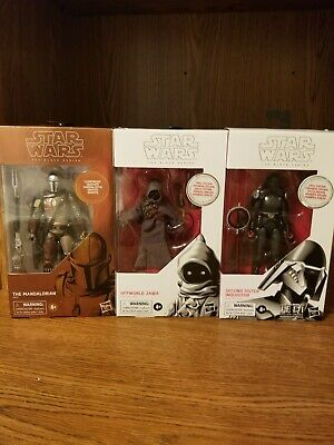 Star Wars Black Series The Mandalorian Carbonized Target Exclusive +2