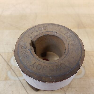 """Lovejoy L-100 1.1875 Coupling, 1-3/16"""" Bore - USED"""