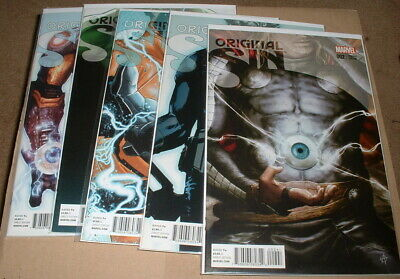 Marvel Comics - Original Sin - miscellaneous variant covers