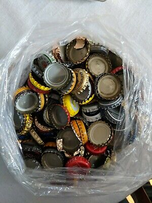 Lot Assorted Bottle Caps Crafts Furniture Projects Game Approx 1.75 Pounds