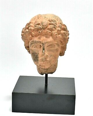 Ancient Eastern Roman Stone Female Head