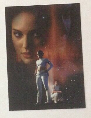 2002 Topps Star Wars Attack of the Clones Silver Foil Card #2 Padme