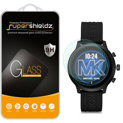 3X Tempered Glass Screen Protector for Michael Kors Access MKGO Smartwatch