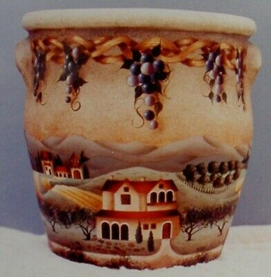 """Betty Caithness tole painting pattern """"Napa Valley - 1995"""""""