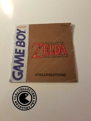 The legend of Zelda link's awakening - gameboy - nintendo - notice