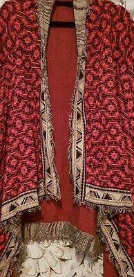 Tigerlily archives waterfall cardigan small EC